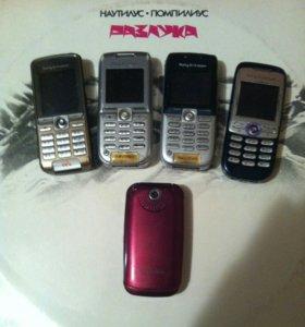 Телефоны Sony Rricsson