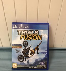 Игра для (PS4) Trials fusion.