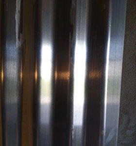 Лист алюминиевый гофрированный