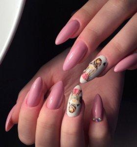Гель лак / наращивание ногтей