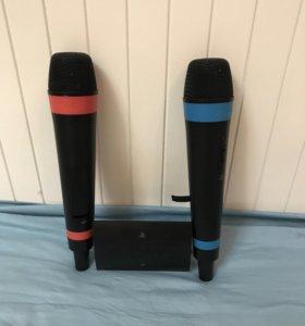 Два микрофона Singstar подходит для (PS3) и (PS4)