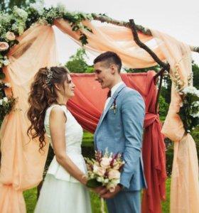 Выездная регистрация  - свадебная арка