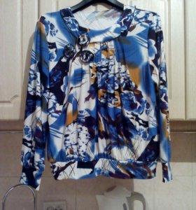 Блузка новая 52 раз