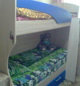 СРОЧНО 2х- ярусная кровать!!!