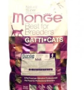 Корм Monge 10 кг для кошек
