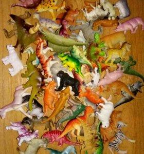 Разные наборы животных