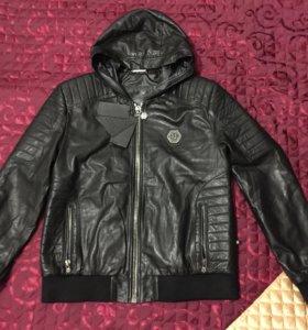 Новая кожаная куртка Philipp Plein