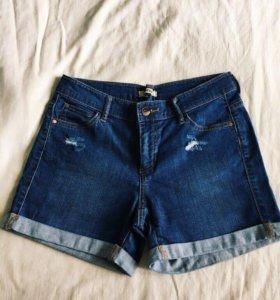 Шорты летние джинсовые ostin