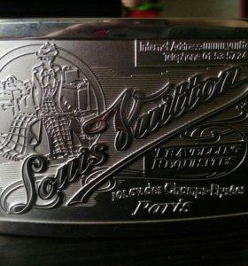 Кожаный ремень Louis Vuitton оригинальный 100%