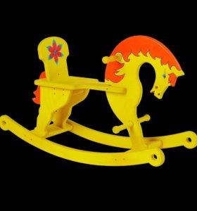 Лошадь качалка Коняшка