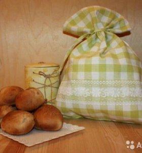 Мешочек хлопковый для хлеба