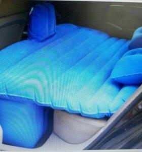 Матрасы с подушками и насосом для автомобиля