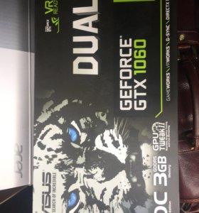 Видеокарта asus geforce gtx 1060 dual oc 3g