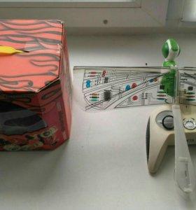 Летающая радиоуправляемая игрушка-стрекоза