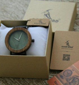 Деревянные часы bobo bird оригинальные