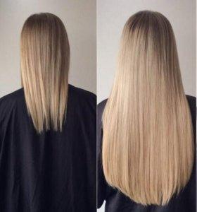 Горячее наращивание волос Итальянская технология