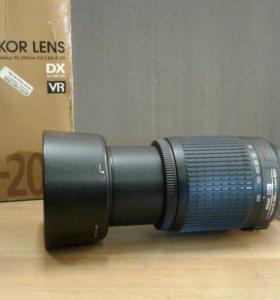 AF-S DX VR Zoom-Nikkor 55-200 f/4-5.6G IF-ED