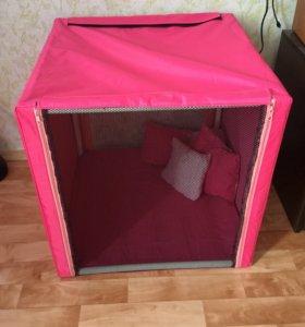 Палатка выставочная для кошек