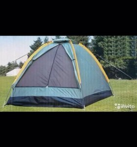 Новая двухместная туристическая палатка