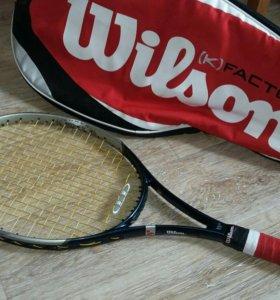 Ракетка для большого тенниса графитовая.
