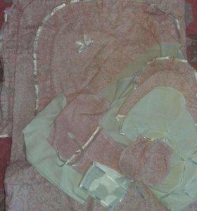 Конверт-одеяло на выписку (лето)