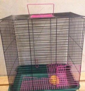 Клетки для крысы/хомяка