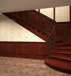 Лестницы, ограждения. Проект, изготовление, монтаж