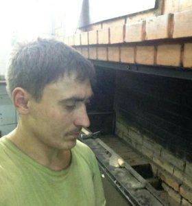 Мастер печник предлагает услуги по кладке каминов
