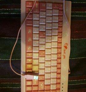 Клавиатура для компьютера для девочек