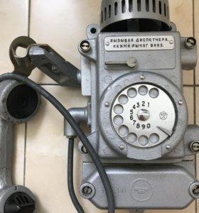 Телефон шахтовый Таша-2 в идеальном состоянии