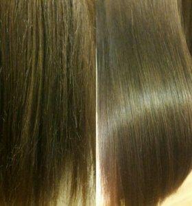Реконструкция кончиков волос
