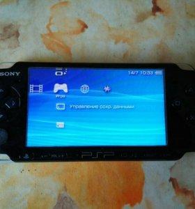 Sony psp 3001 + 8 gb флешка