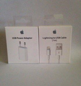 Кабель+адаптер Apple iPhone/iPad