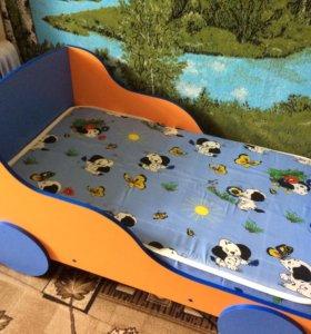 Детская кровать 1,25 на 70 см
