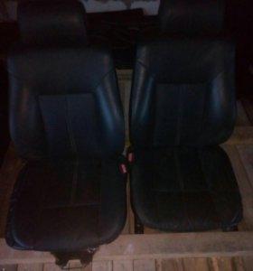 Кожаный салон BMW-E-39