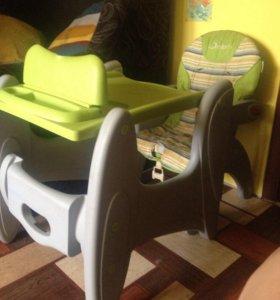 Стул и стол трансформер Jetem Magic