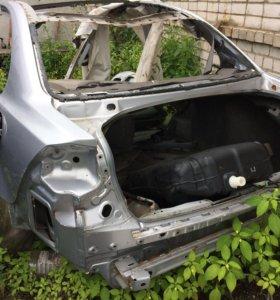 Mitsubishi Lancer X задняя часть