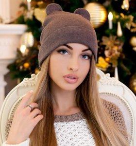 Варежки  шарф шапка