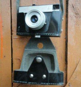 Фотоаппарат Смена 8м (Ломо) в чехле