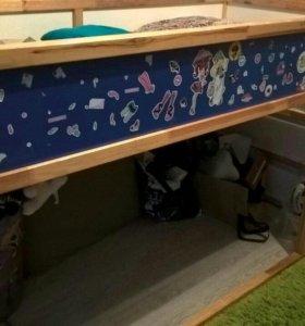 Детская кровать IKEA Кюра