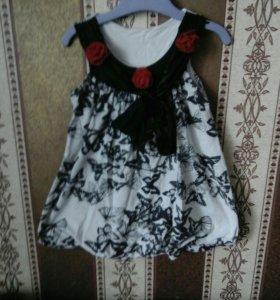 Блузки,платья,туники для девочки 3-4года