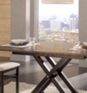 Стол-трансформер ROMA и стулья Idealsedia
