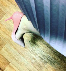Лодочки туфли Омбрэ - фото скину новые в коробке