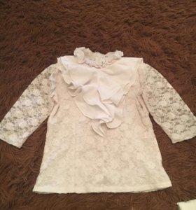 Блузка рост 122см