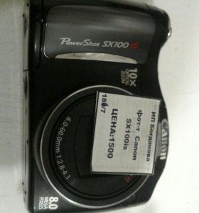 Фотоаппарат Canon SX100is