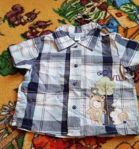Рубашки р.68