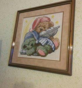 Картинка вышивка крестом
