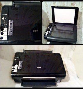 Принтер, сканер, копир 3в1