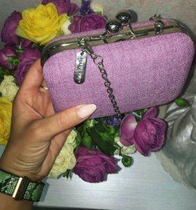 Розовый клатч Mary Kay