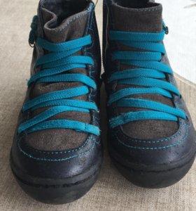 Ботиночки кожаные,демисезонные
